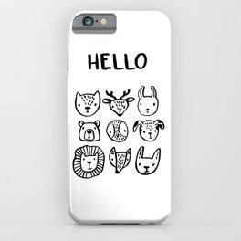 Say Hello iPhone Case