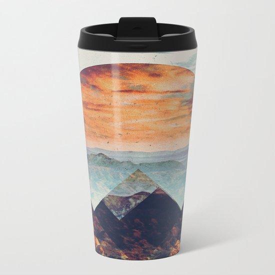 Fractions B02 Metal Travel Mug