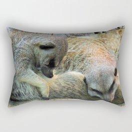 Very tired... Rectangular Pillow