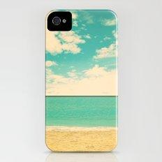 Retro Beach iPhone (4, 4s) Slim Case