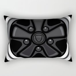 Wheel Design Retro Fuchs Felge Rectangular Pillow