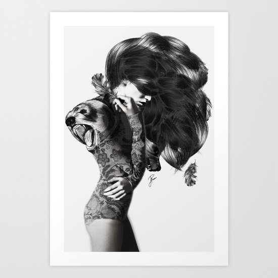Bear #2 Art Print