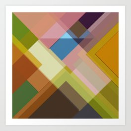 Abstract Composition 634 Art Print
