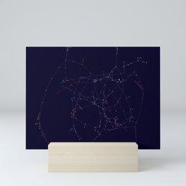 Association Network of Woman Mini Art Print