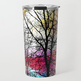Tree Alley Colors Travel Mug