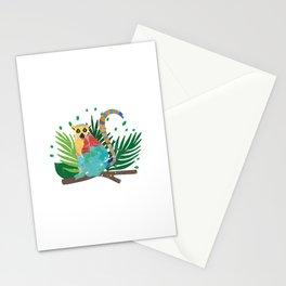Lemur Jungle Nature Stationery Cards