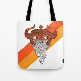 The Enthusiastic Viking Tote Bag