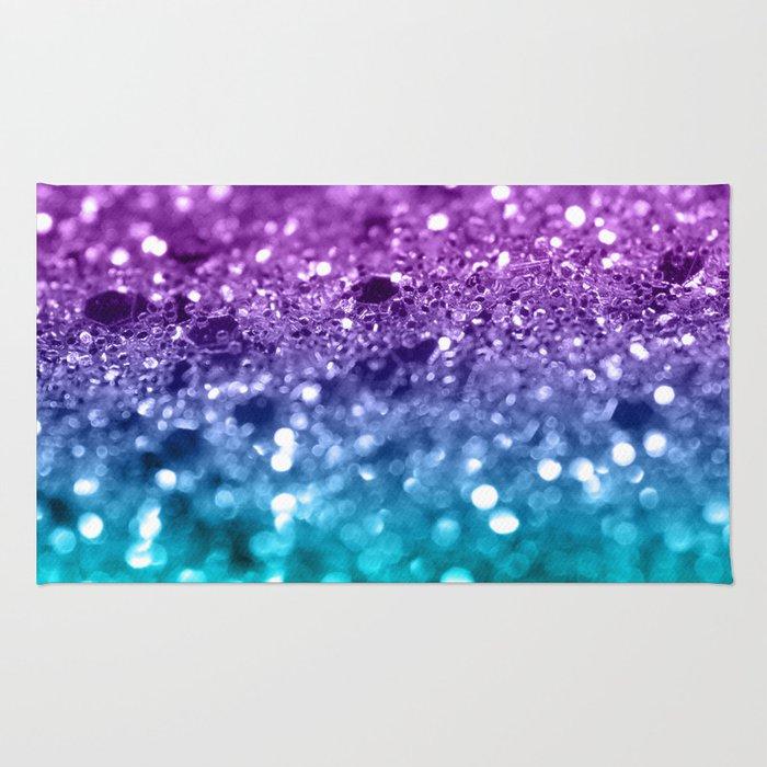 Unicorn Girls Glitter #19 #shiny #decor #art #society6 Rug