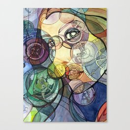 Gearface Canvas Print