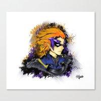 fire emblem Canvas Prints featuring Fire Emblem Awakening - Gerome by inkjamz