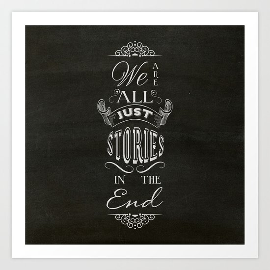 Just Stories Art Print