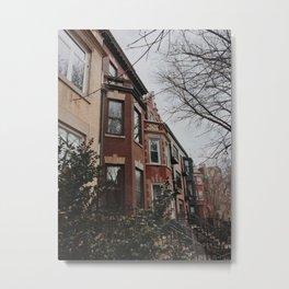 Townhouse Metal Print
