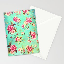 Vintage Flowers XLIII - for iphone Stationery Cards