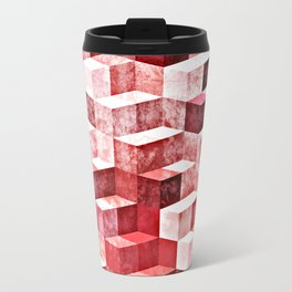 Pink Granite Travel Mug