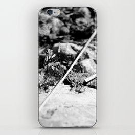 Black and White Beauty iPhone Skin