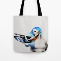 frozen Tote Bags featuring Frozen by EclipseLio