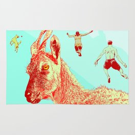 Goat I (Lie to Me) Rug
