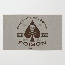 Black Spade Poison Rug
