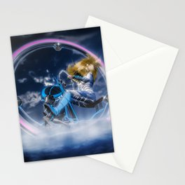 Wind Surfers II (3) Stationery Cards