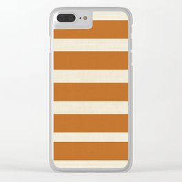 Spiced Autumn Clear iPhone Case