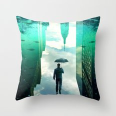 Vivid Dream Throw Pillow