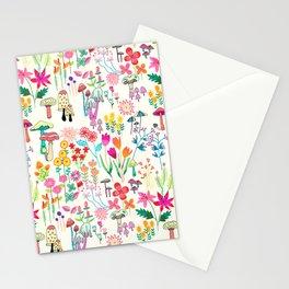 The Odd Floral Garden I Stationery Cards