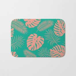 TROPICAL LEAVES 8 Bath Mat