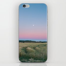 Moon Over The Horizon Gradient iPhone Skin