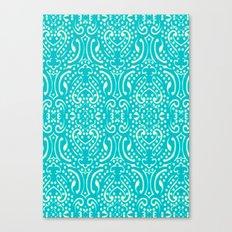 Cut Paper Canvas Print