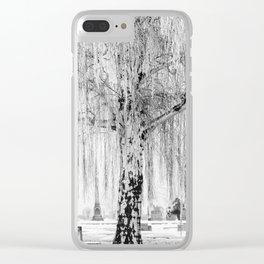 Frozen Graves Clear iPhone Case