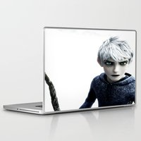 jack frost Laptop & iPad Skins featuring Jack Frost  by LaurenMichelle