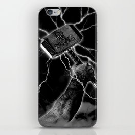 THOR'S HAMMER iPhone Skin