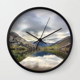 Lake Enol Wall Clock