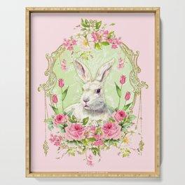 Spring Bunny Serving Tray