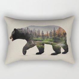 The North American Black Bear Rectangular Pillow