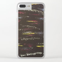 Same direction, different wavelengths Clear iPhone Case