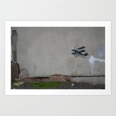 come fly with me part 1 Art Print