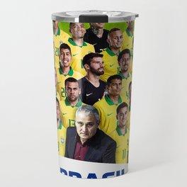 Brasil Champions Copa America 2019 Travel Mug