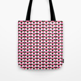 Sweethearts pink #hatetolove Tote Bag