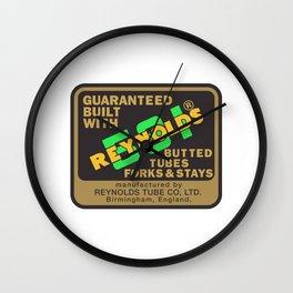 Reynolds 531 - Enhanced Wall Clock