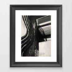 Conflicting ways Framed Art Print