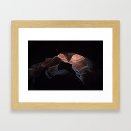 Upper Antelope Canyon-0466 Framed Art Print