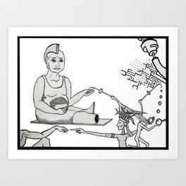 La Gorda Art Print