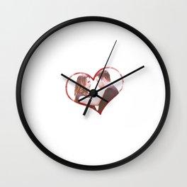 Alex and Jo Wall Clock