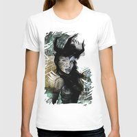 angel T-shirts featuring Angel by Irmak Akcadogan