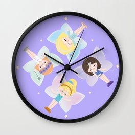 Polly Pocket Fairies Wall Clock