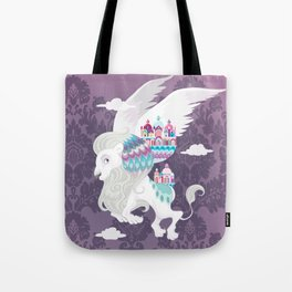 Flying Lion of Venice Tote Bag