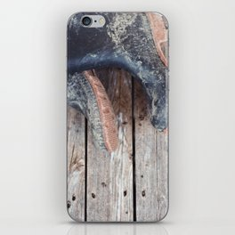 muddy iPhone Skin