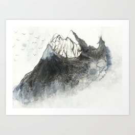 Interval Art Print