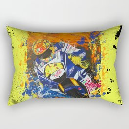 Moto Splash Rectangular Pillow